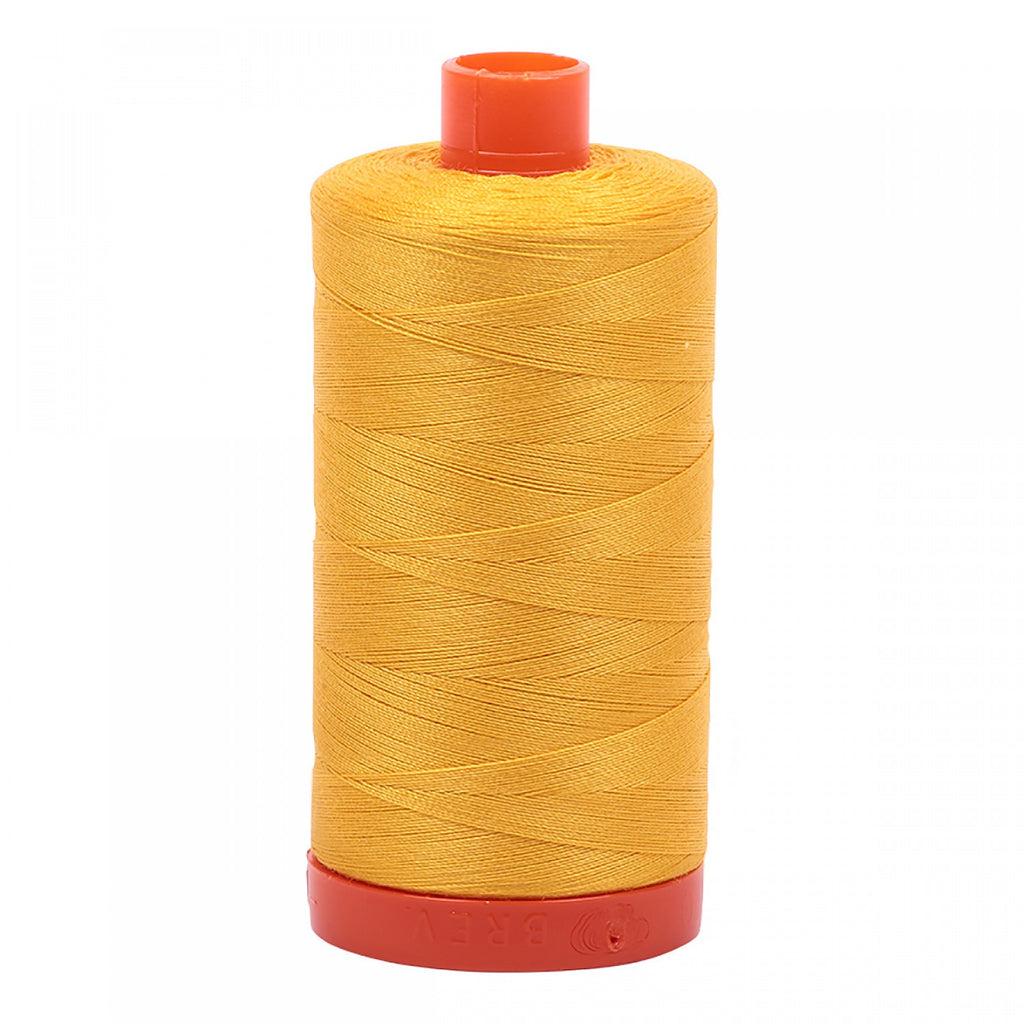 #MK50-2135 100% Cotton Aurifil 50wt Yellow