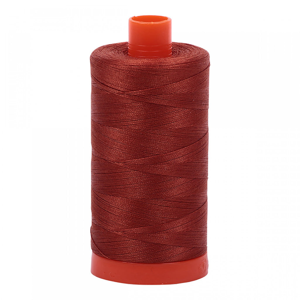 #MK50-2350 100% Cotton Aurifil 50wt Copper