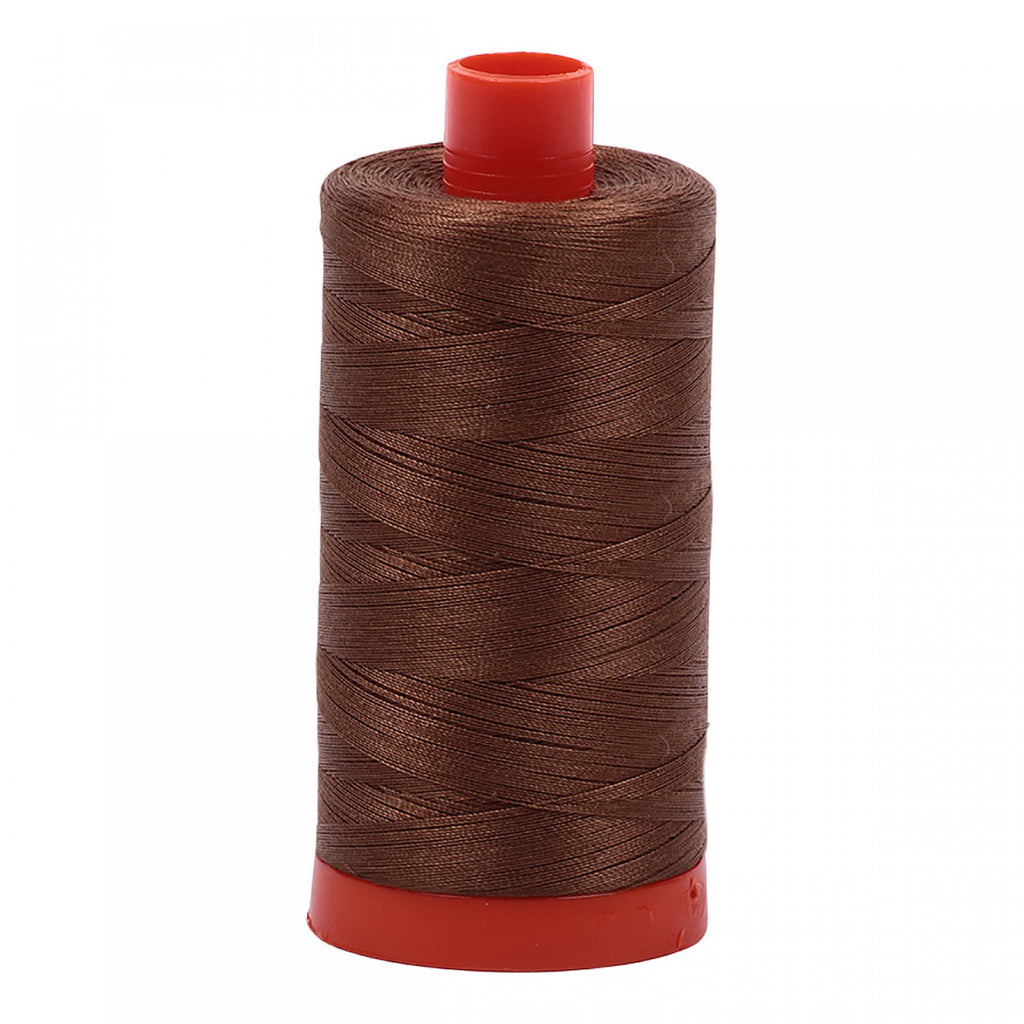#MK50-2372 100% Cotton Aurifil 50wt Dark Antique Gold