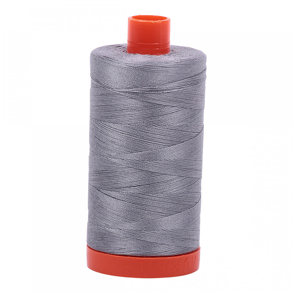 #MK50-2605 100% Cotton Aurifil 50wt Grey