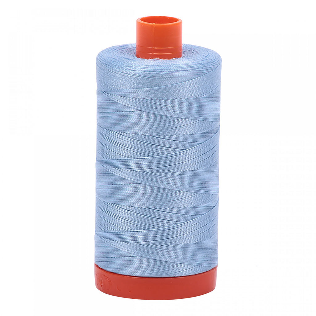 #MK50-2715 100% Cotton Aurifil 50wt Robins Egg