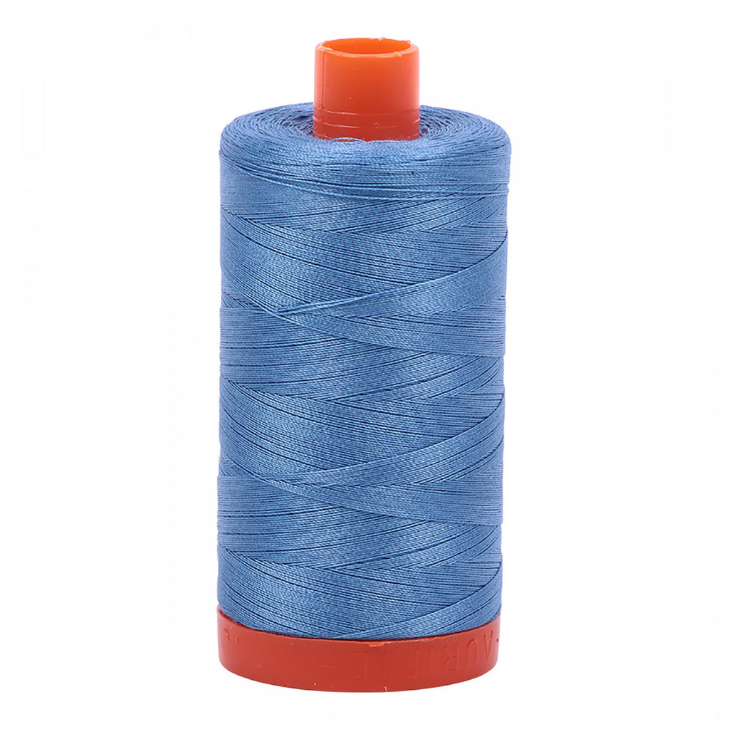 #MK50-2725 100% Cotton Aurifil 50wt Light Wedgewood