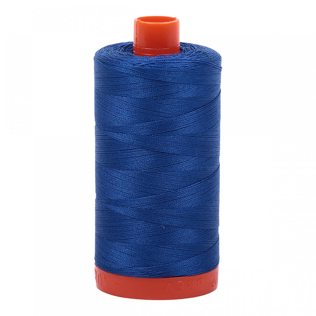 #MK50-2735 100% Cotton Aurifil 50wt Medium Blue