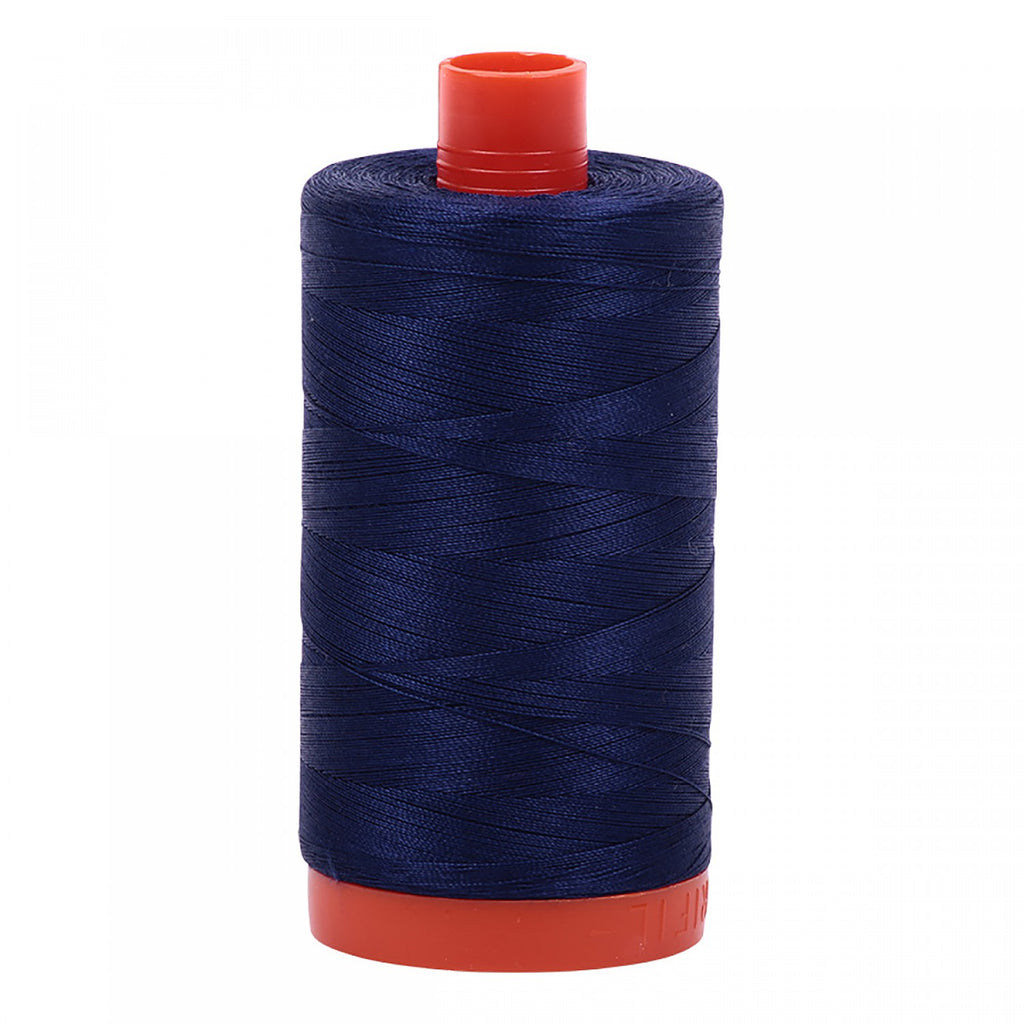 #MK50-2745 100% Cotton Aurifil 50wt Midnight