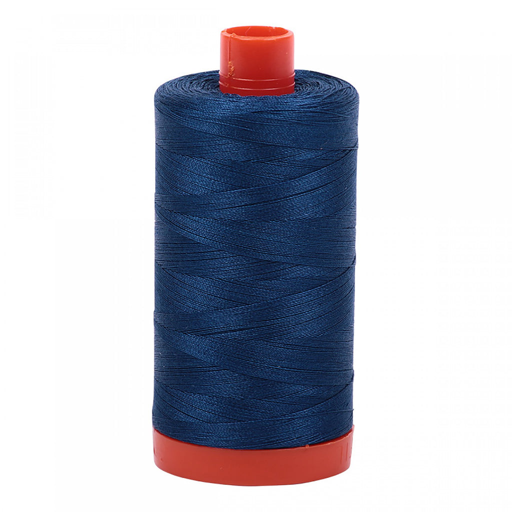 #MK50-2783 100% Cotton Aurifil 50wt Medium Delft Blue