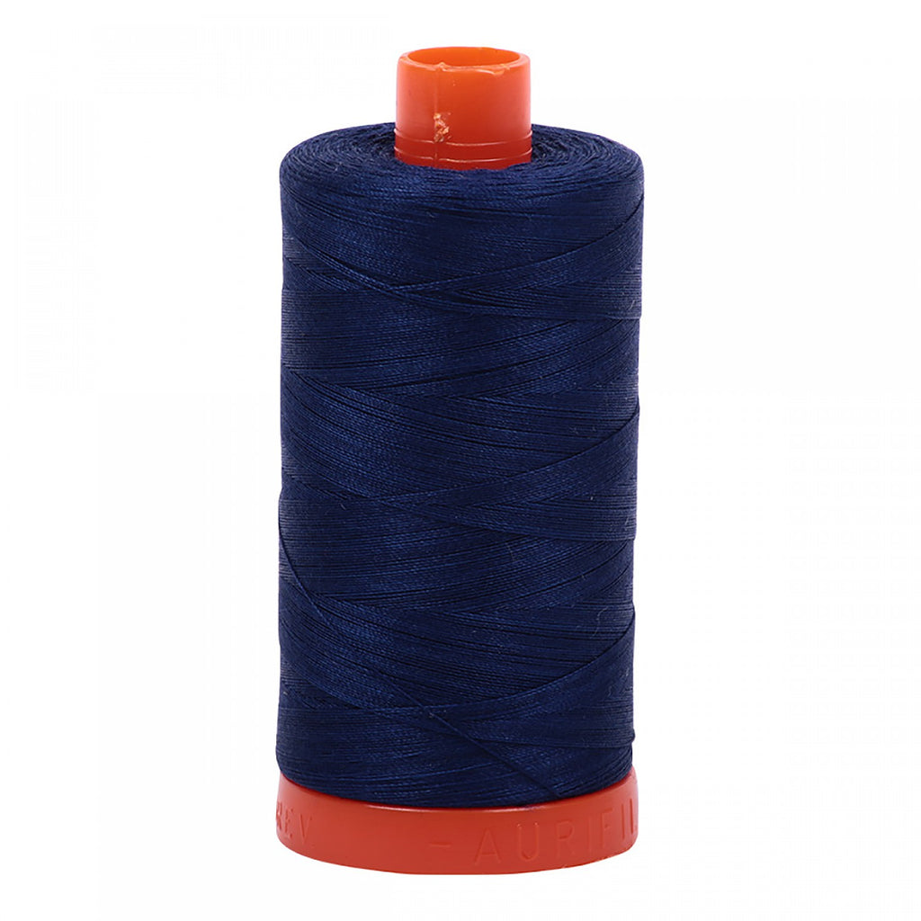 #MK50-2784 100% Cotton Aurifil 50wt Dark Navy