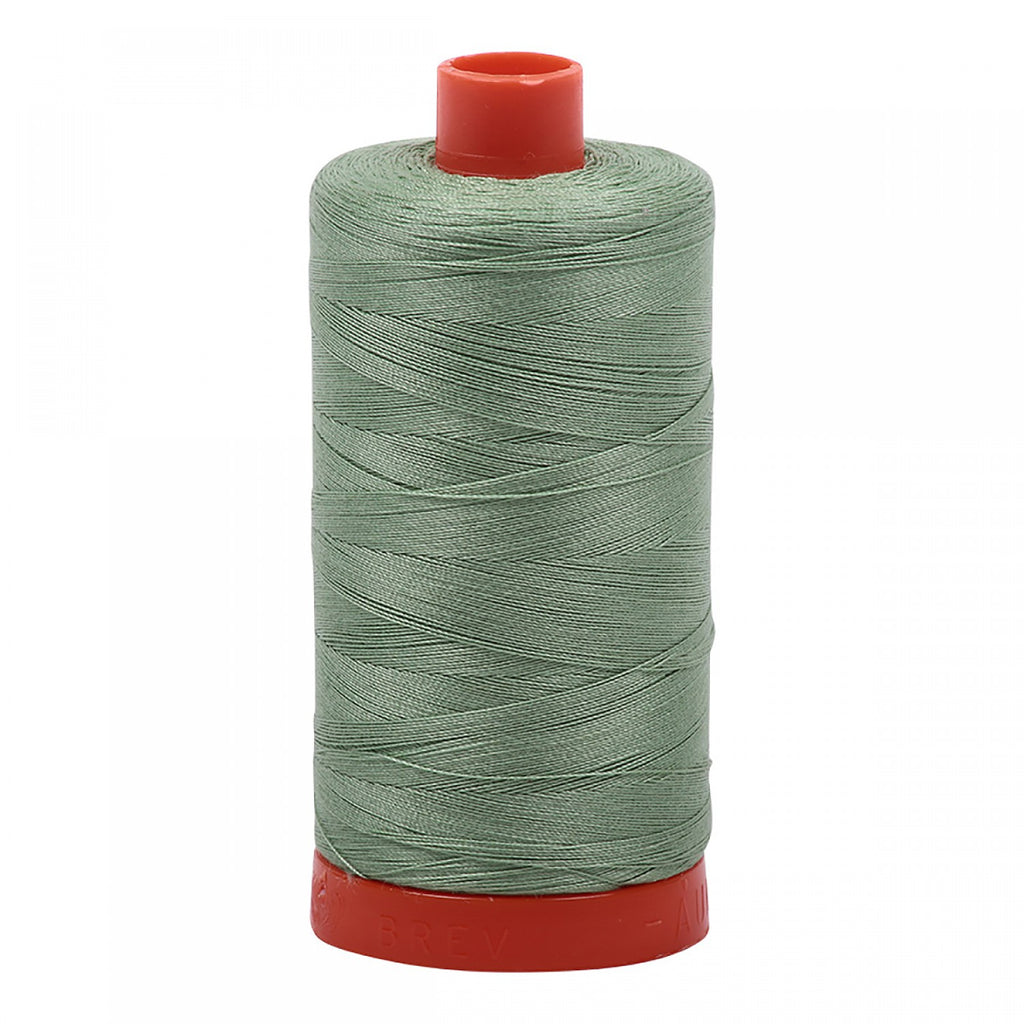 #MK50-2840 100% Cotton Aurifil 50wt Lodan Green