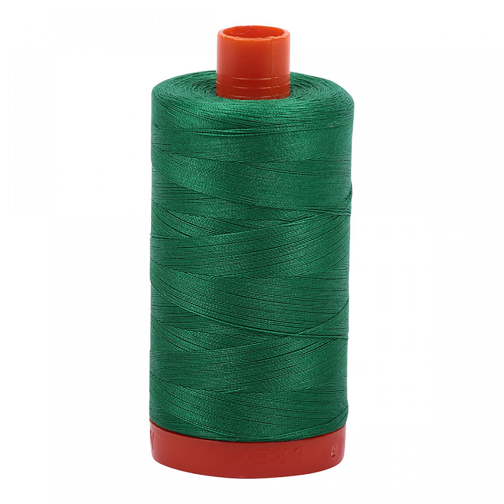 #MK50-2870 100% Cotton Aurifil 50wt Green