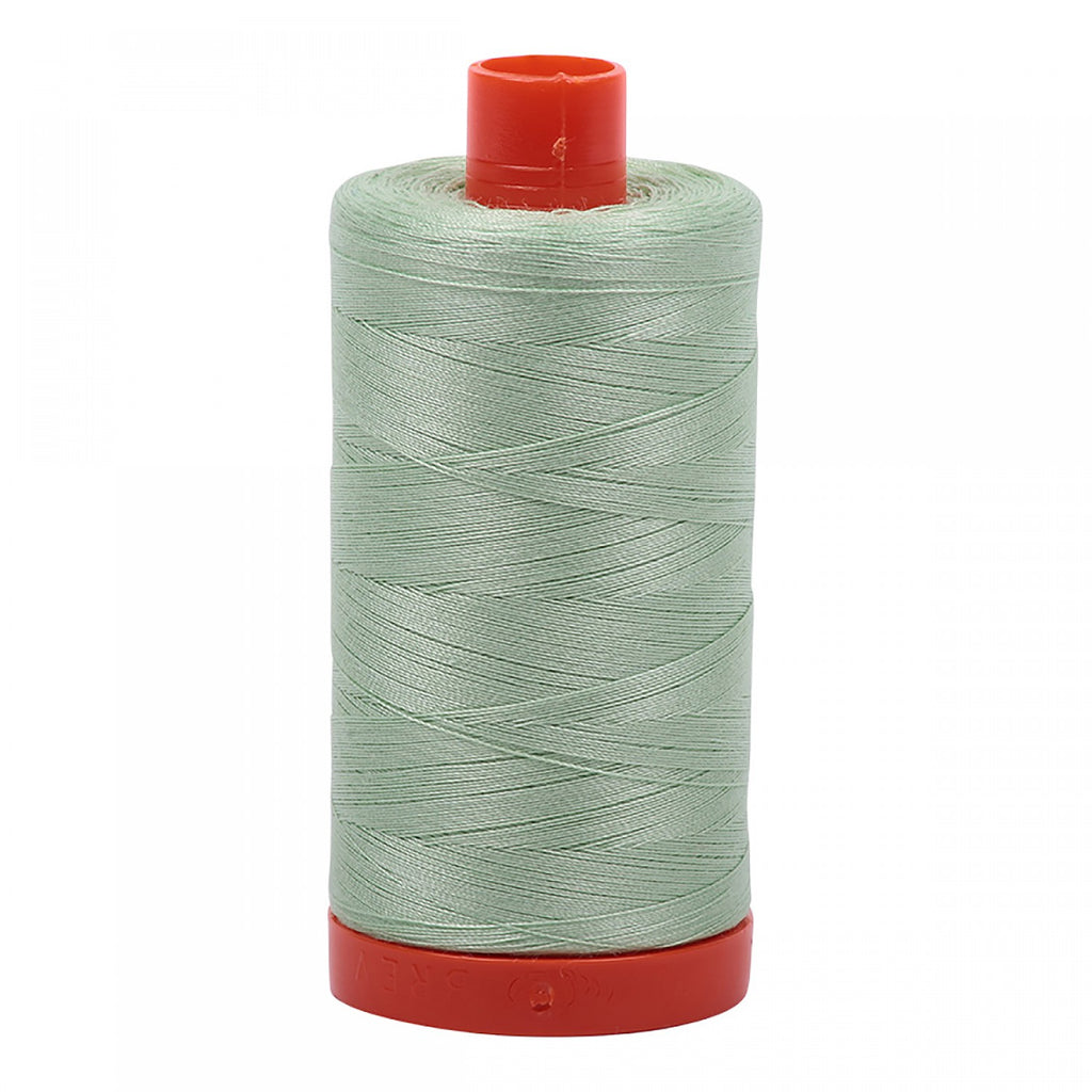 #MK50-2880 100% Cotton Aurifil 50wt Pale Green