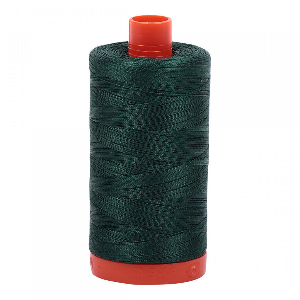 #MK50-2885 100% Cotton Aurifil 50wt Medium Spruce