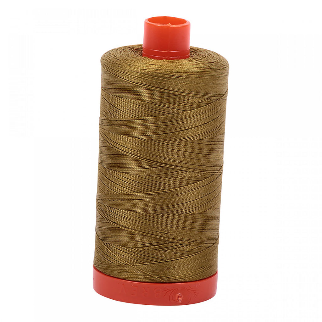 #MK50-2910 100% Cotton Aurifil 50wt Medium Olive
