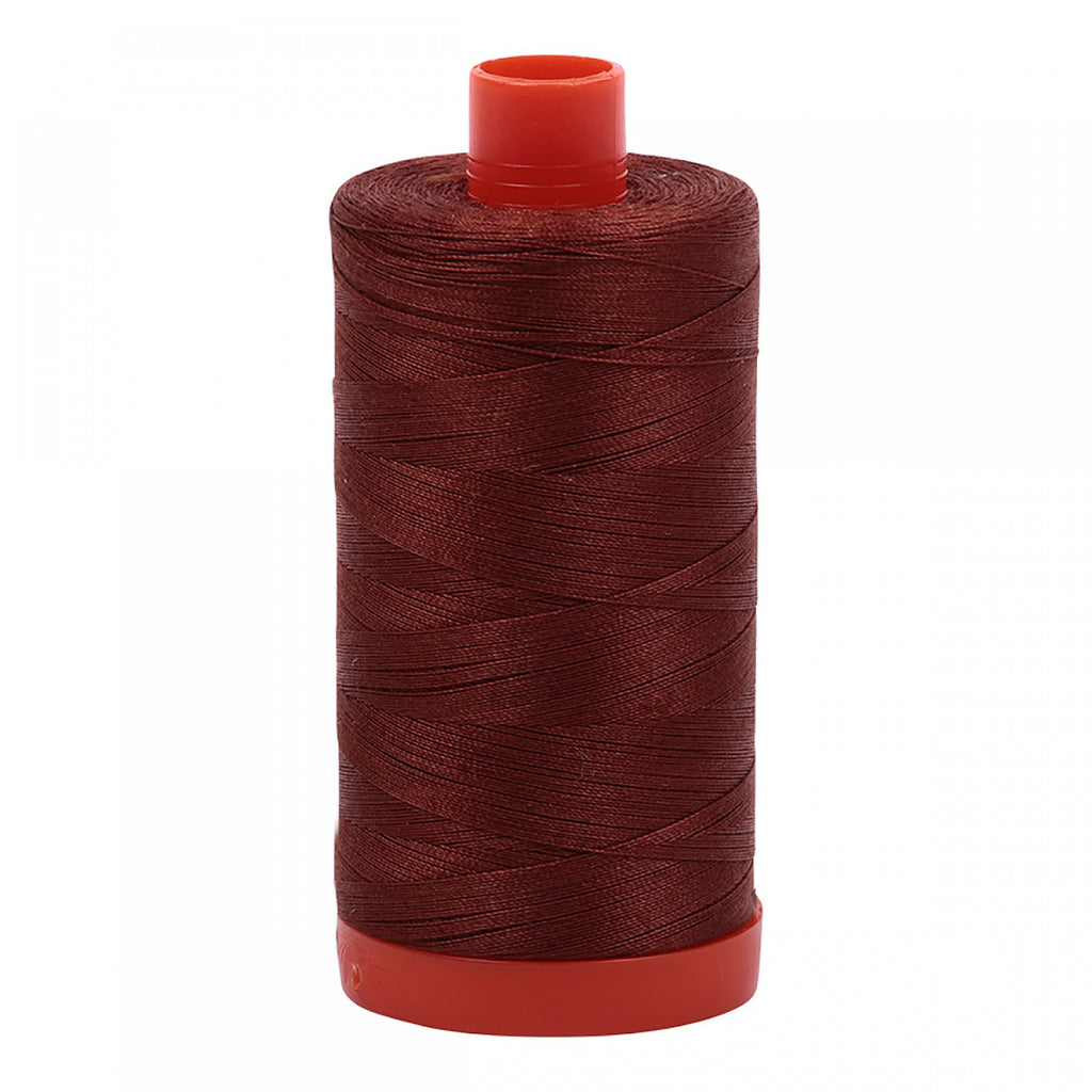 #MK50-4012 100% Cotton Aurifil 50wt Copper Brown