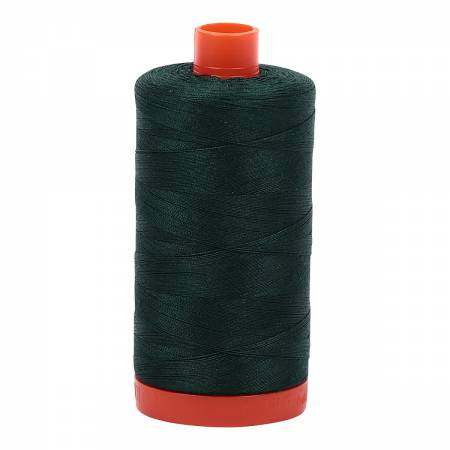 #MK50-4026 100% Cotton Aurifil 50wt Forest Green