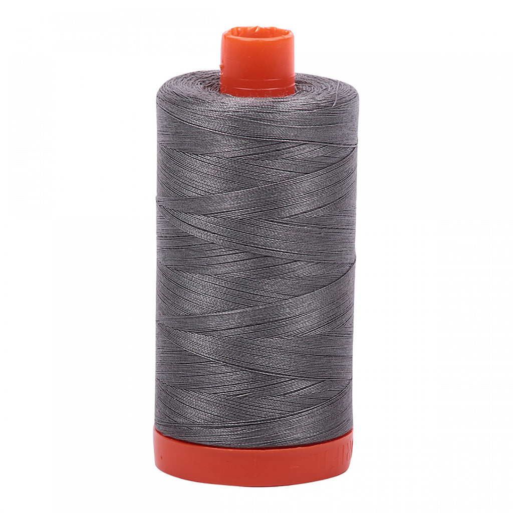 #MK50-5004 100% Cotton Aurifil 50wt Grey Smoke