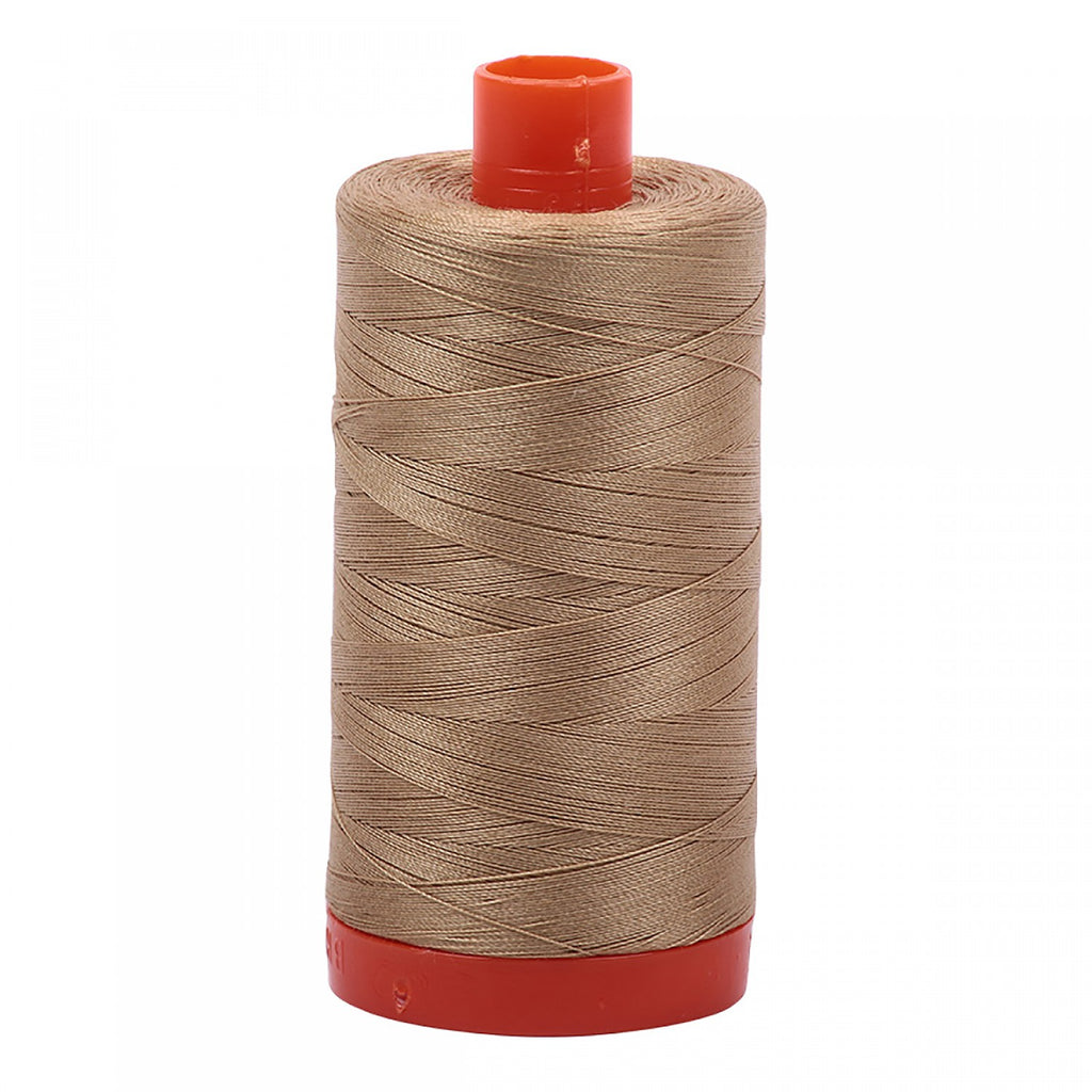 #MK50-5010 100% Cotton Aurifil 50wt Blonde Beige
