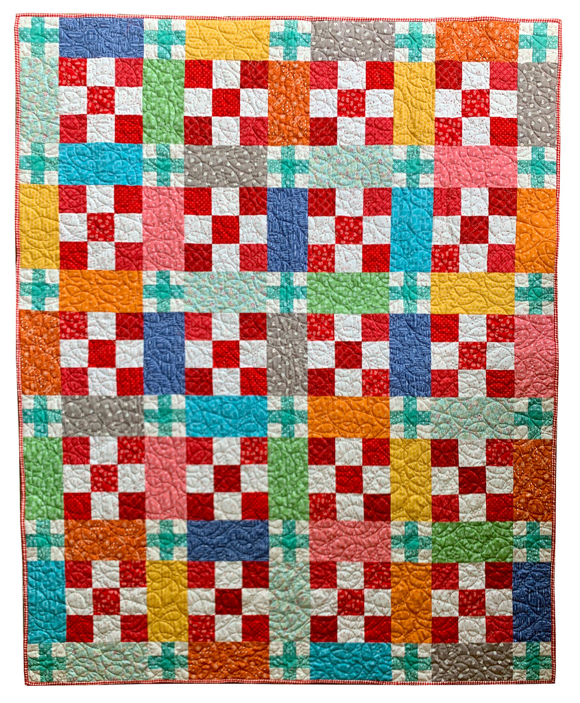 Super Fresh Sweetly Stitched Quilt Kit