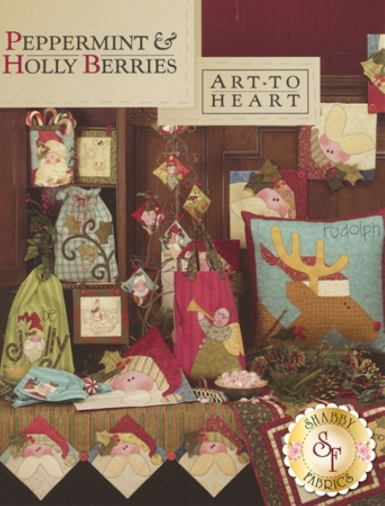 Peppermint and Holly Berries Book