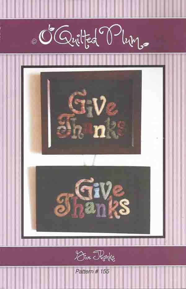 Give Thanks Wool Pattern