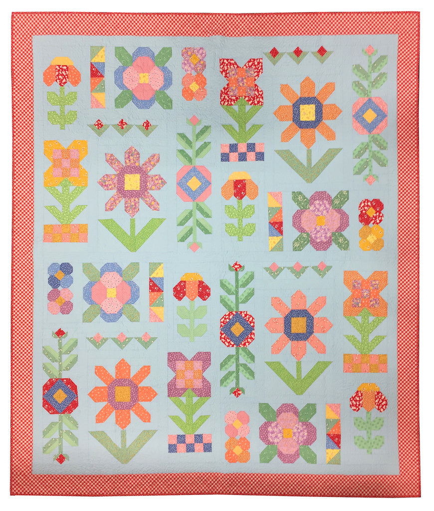 Wildflower Sampler Quilt Kit