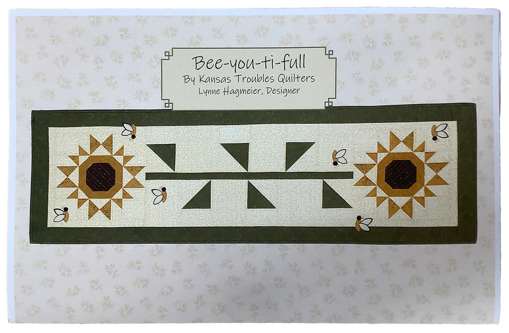 """Bee-You-Ti-Full"" Runner Pattern"