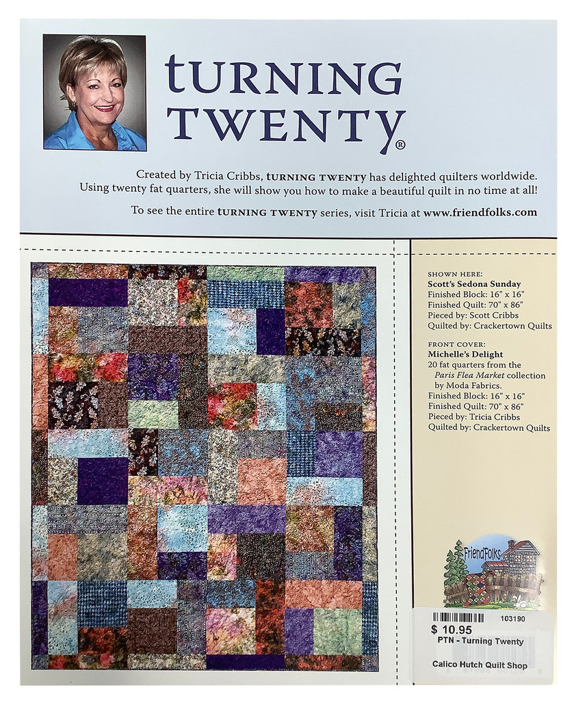 Turning 20 Quilt Booklet