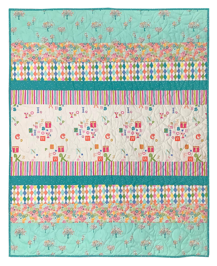 Playroom Tiramisu Quilt Kit