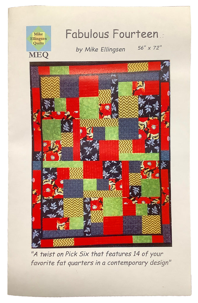 Fabulous Fourteen-Modern Quilt Pattern