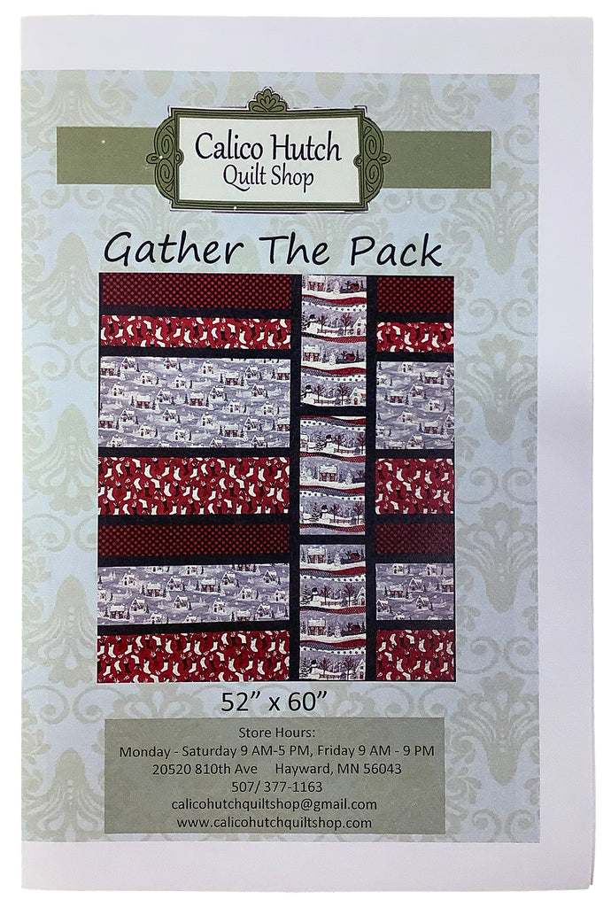 Gather the Pack Quilt Pattern
