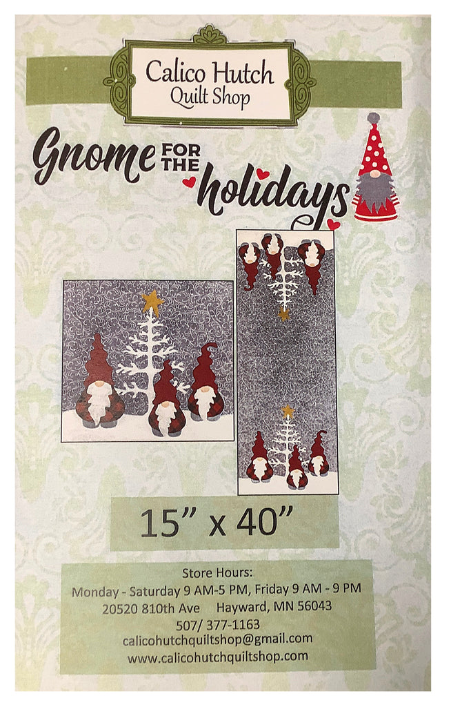 Gnome for the Holidays Runner Pattern