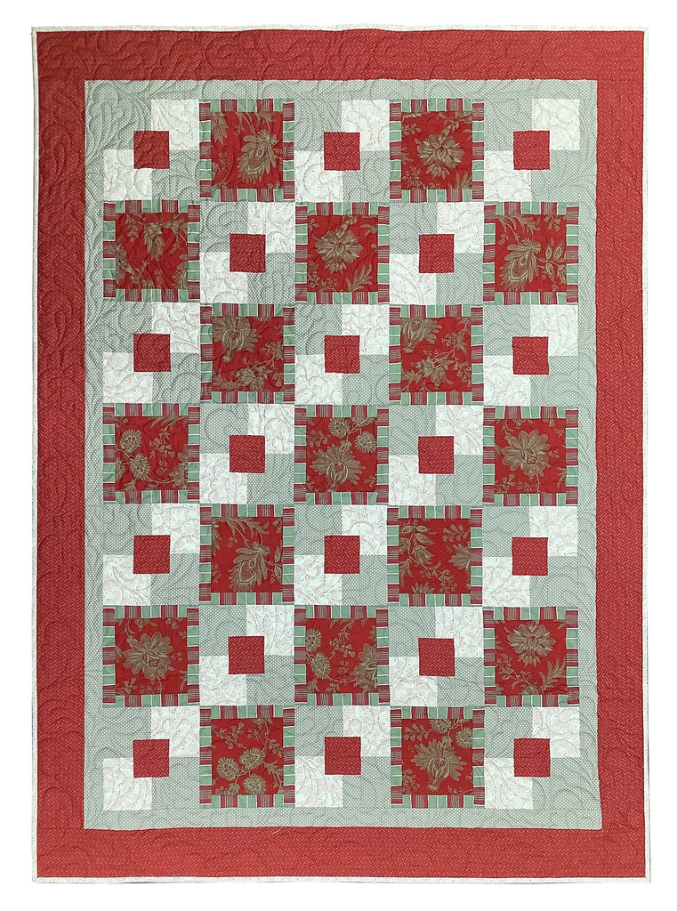 Brick Red Five Yard Quilt Kit