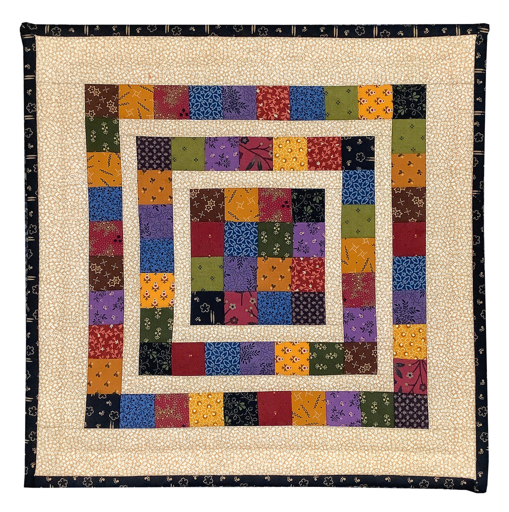 Village Square Antique Mini Quilt Collection Kit