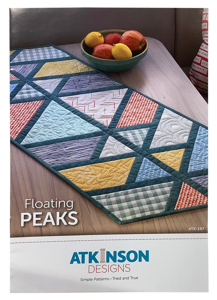 Floating Peaks Table Runner Pattern