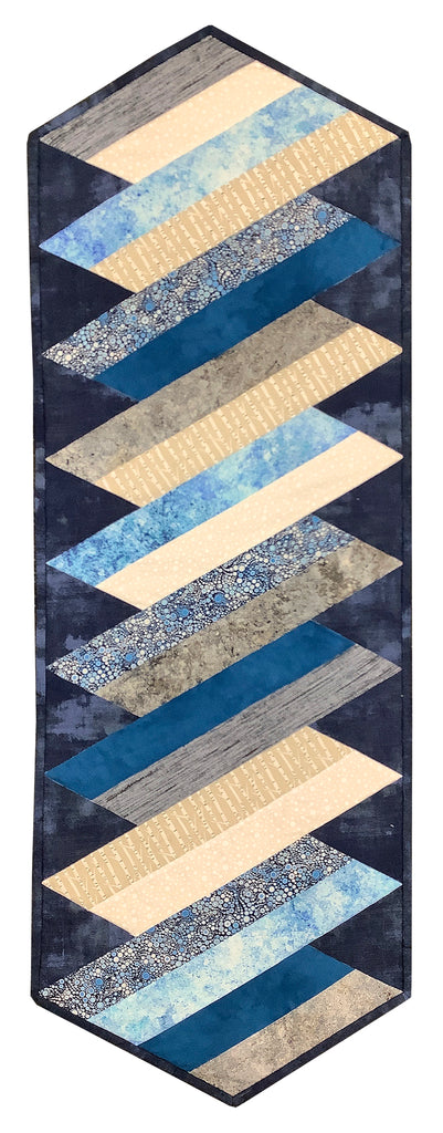 Shades of Blue - Rocky Mountain Table Runner Kit