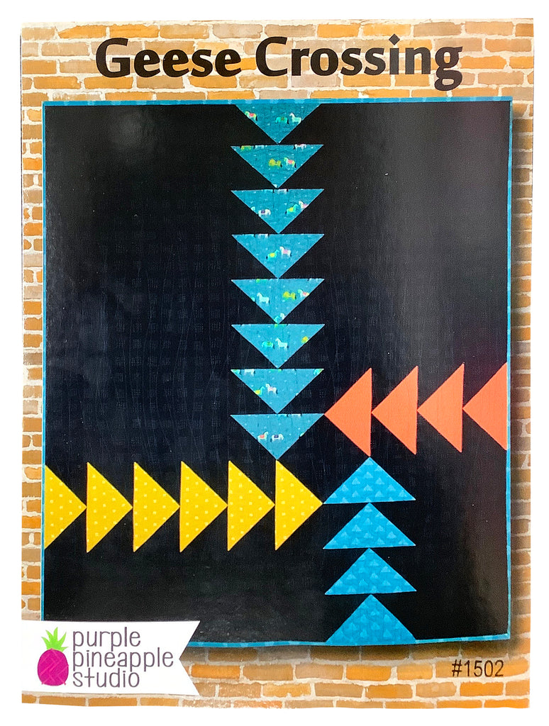 Geese Crossing Quilt Pattern
