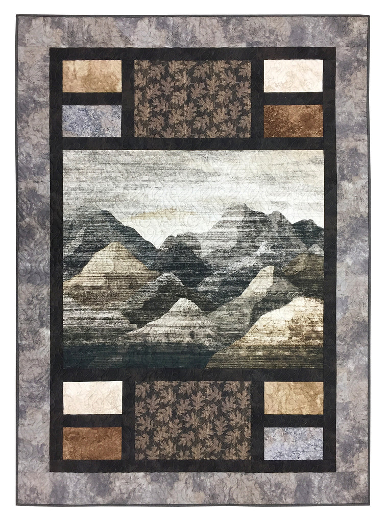 Bookends Mountain Vista Quilt Kit