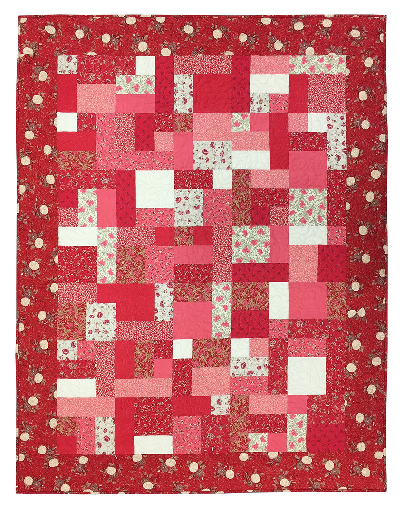 Yellow Brick Road Le Beau Papillon Quilt Kit