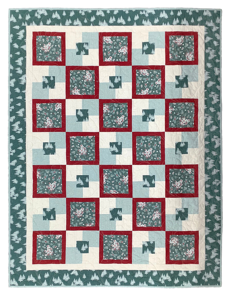 Juniper Brush Flannel Quilt Kit