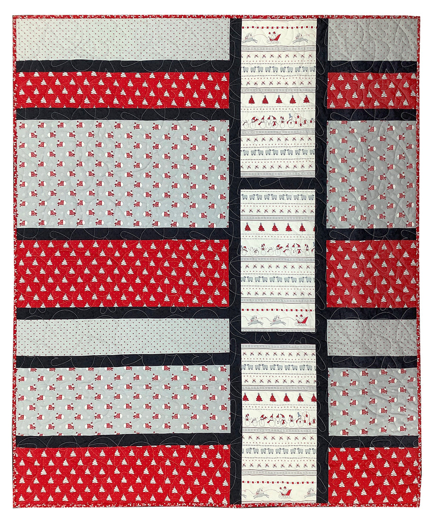 Country Christmas Gather the Pack Quilt Kit