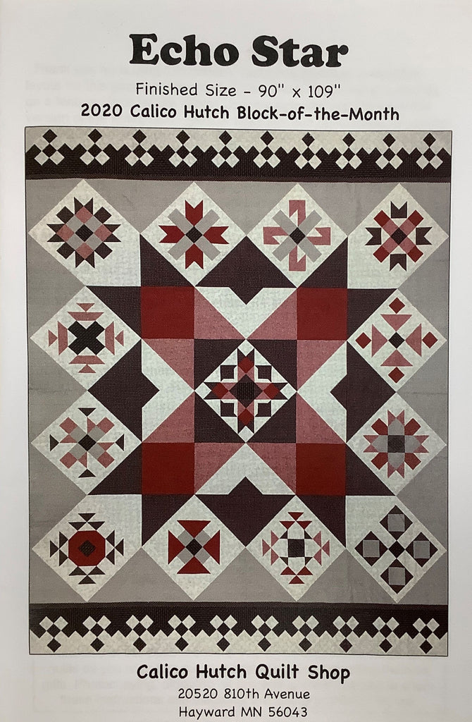 Echo Star Quilt Pattern