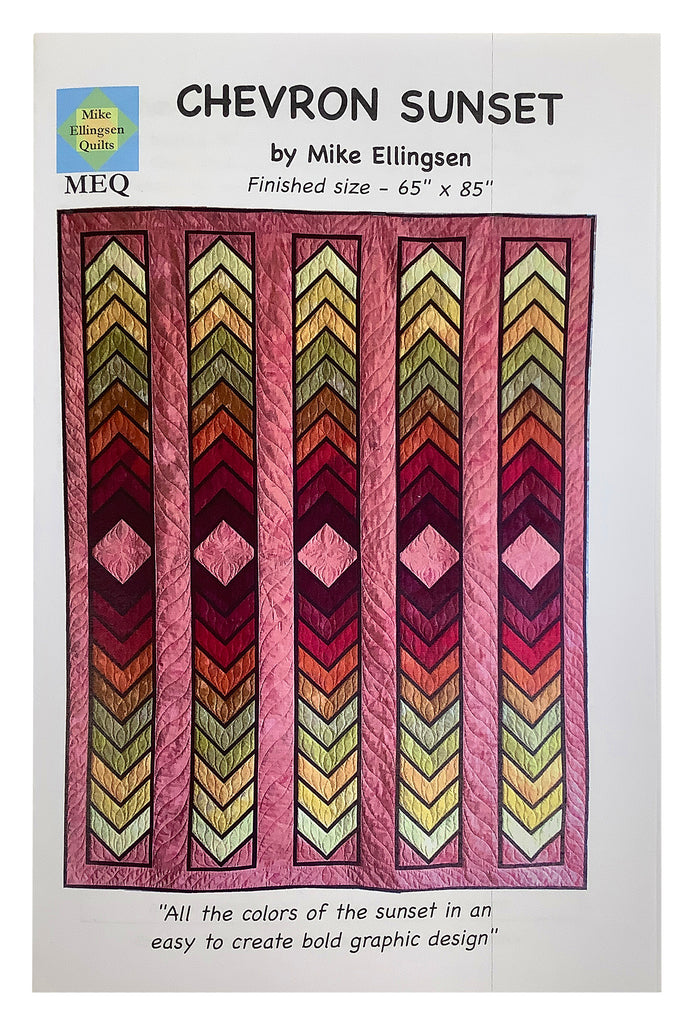 Chevron Sunset Quilt Pattern