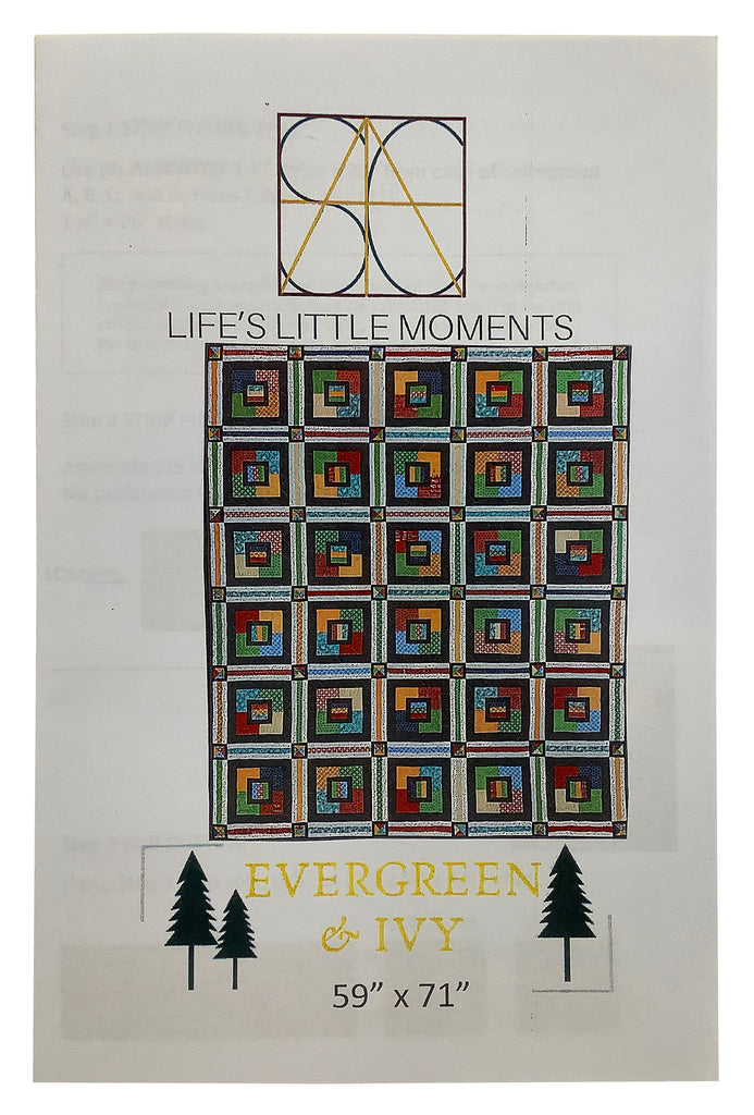 Evergreen and Ivy Quilt Pattern