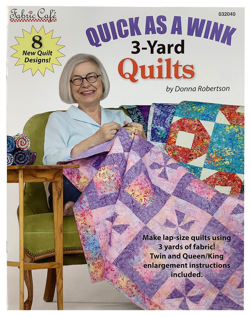 Book - Quick as A Wink 3 Yard Booklet