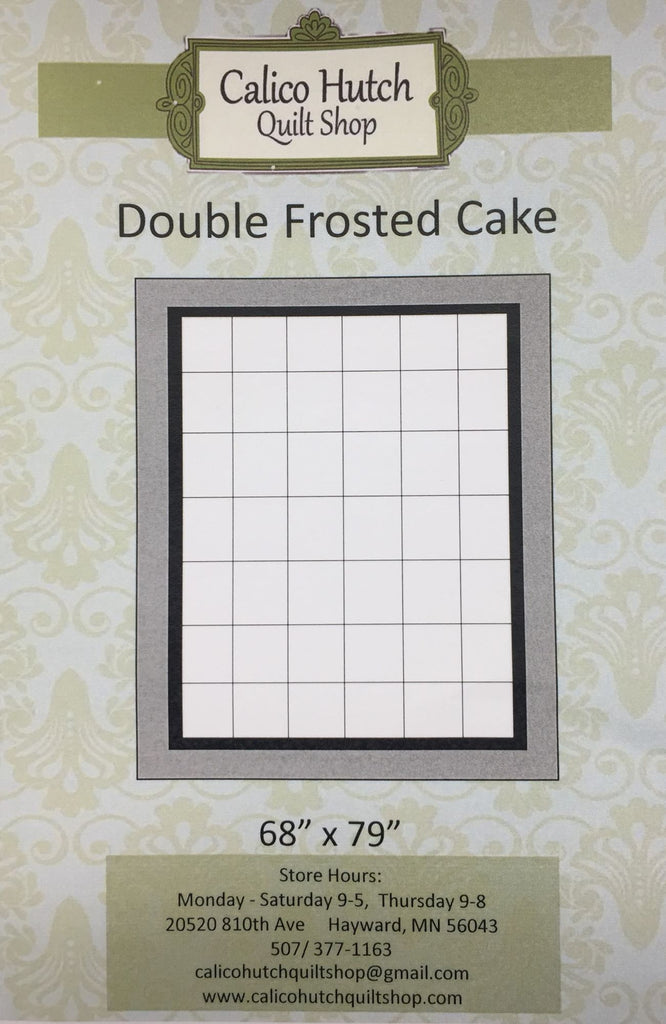 Double Frosted Cake Pattern