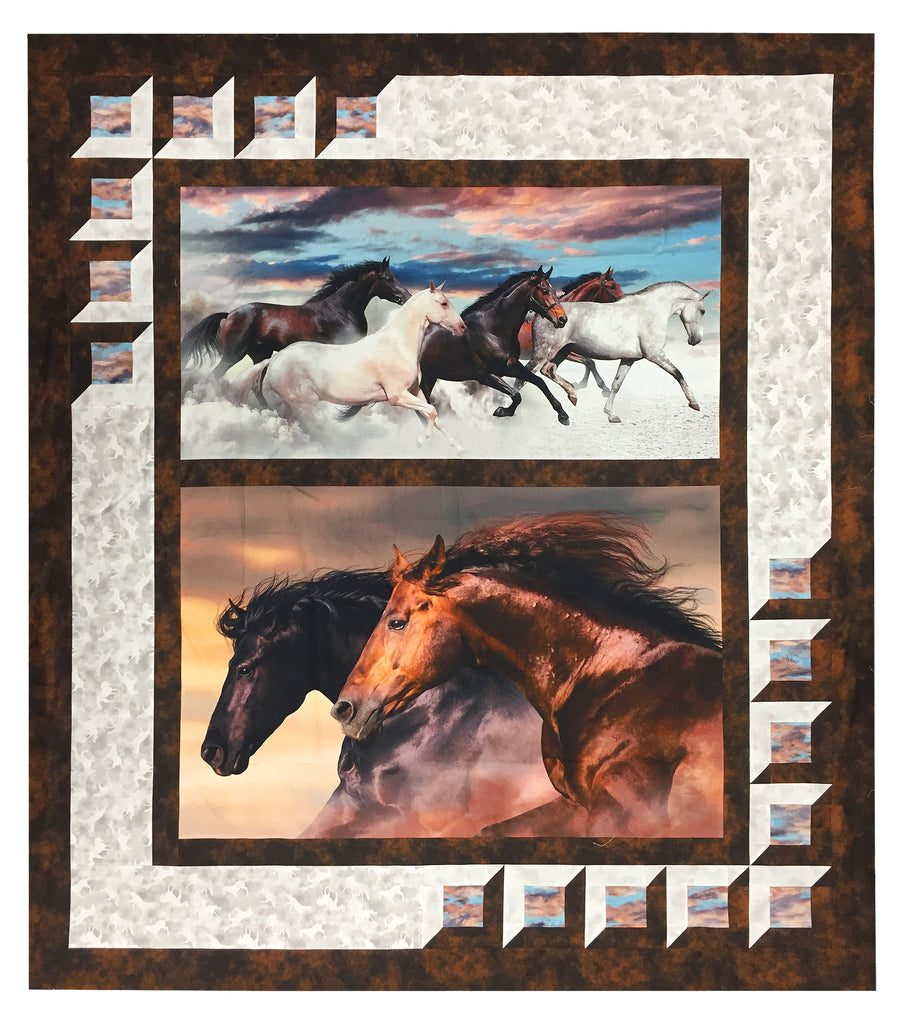 Mavericks Quilt Kit