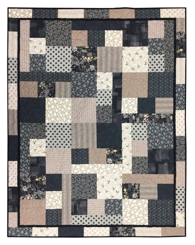 Fabulous Fourteen - Neutrals Quilt Kit