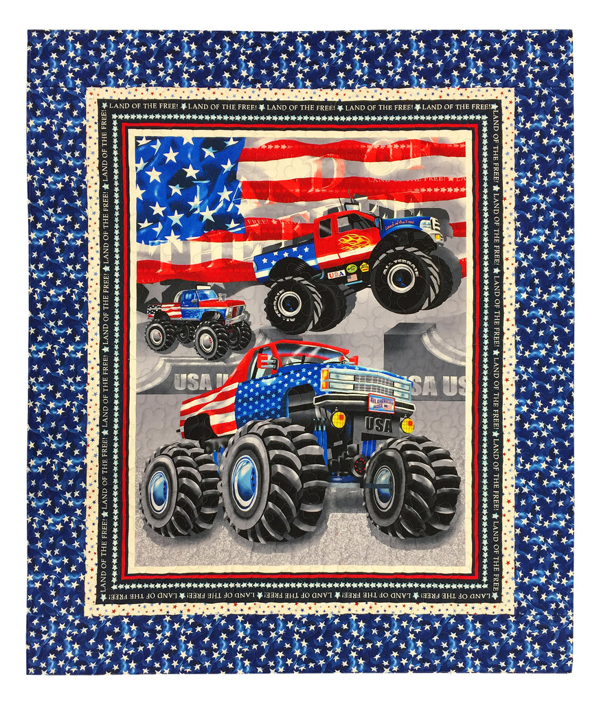 American Truckers Panel Quilt Kit