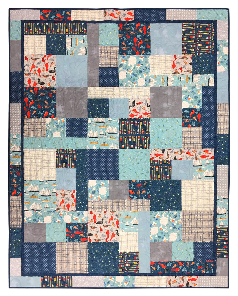 Lakeside Story Quilt Kit