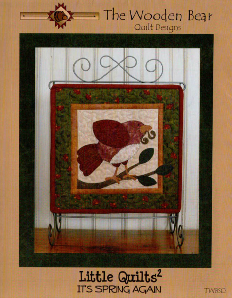 It's Spring Again Little Quilts Squared Mini Quilt Pattern