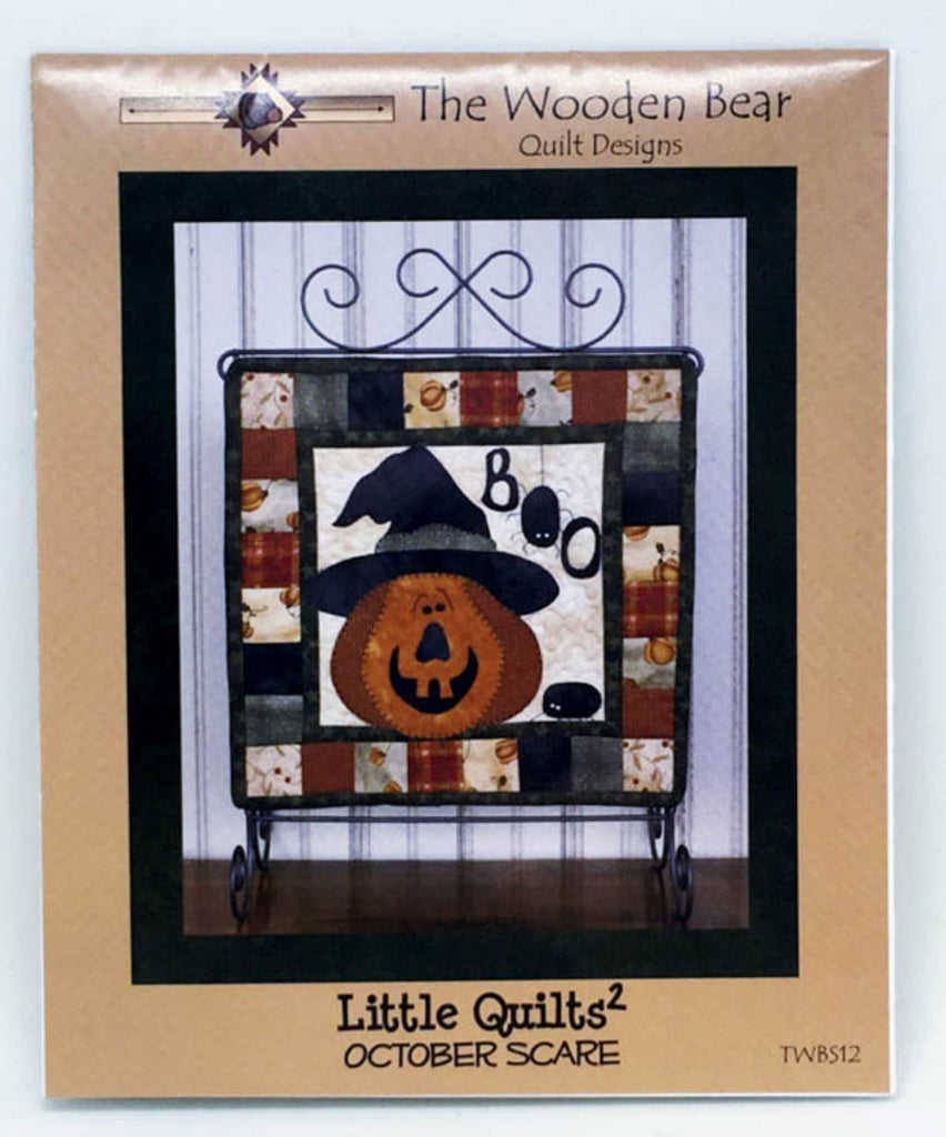 October Scare Little Quilts Squared Mini Quilt Pattern