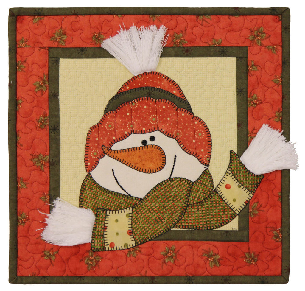 All Bundled Up Little Quilts Squared Mini Quilt Kit